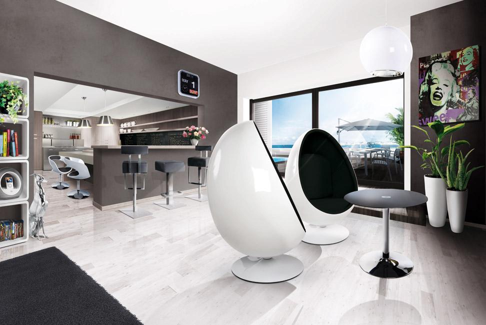 Hedendaagse meubels alterego design belgi - Hedendaagse interieurs ...