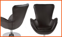 Fauteuil met zijleuningen DOMUS - Alterego Design