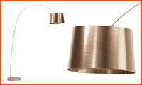 Boogvormige staanlamp KALIPSO - Alterego Design