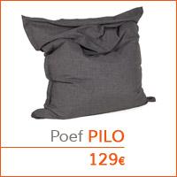 Decoratiehoek meubilair - Reuzenpoef PILO