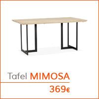 Mijn eerste appartementje - MIMOSA tafel
