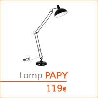 Mijn eerste appartementje - PAPY staanlamp