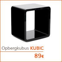 Eetkamer meubelen - Opbergkubus KUBIC
