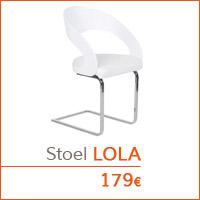 Eetkamer meubelen - Eetkamerstoel LOLA