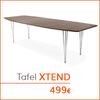 Eetkamer meubelen - Tafel XTEND