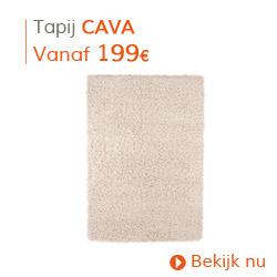 Klassiek - Tapis à poils longs CAVA crème