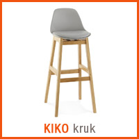 Meubles scandinaves Alterego - Tabouret KIKO