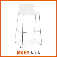 Meubles scandinaves Alterego - Tabouret MARY
