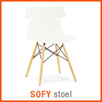 Meubles scandinaves Alterego - Chaise SOFY