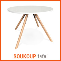 Meubles scandinaves Alterego - Table SOUKOUP