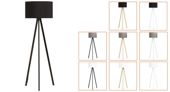 Differents coloris du lampadaire 3 pieds SPRING