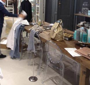 Interieurdecoratie - kledingwinkel - Avanti Mode