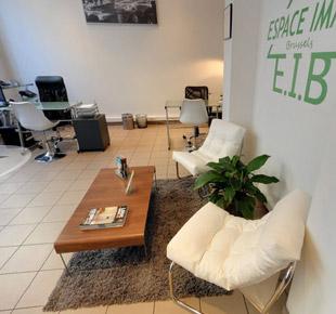 Interieurdecoratie - Makelaarskantoor - Espace Immo Bruxelles