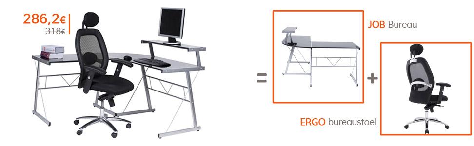 Terug naar school - JOB bureau en ERGO bureaustoel
