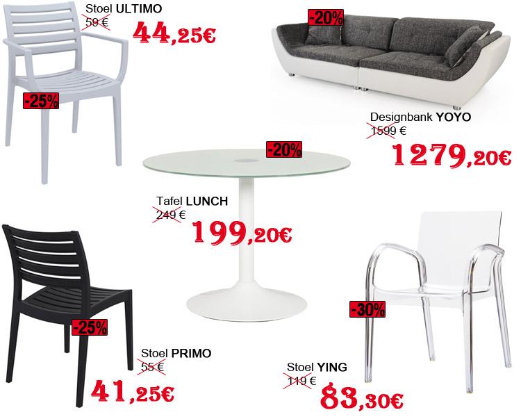 Een selectie van Alterego producten - SOLDEN: Tweede prijsverlaging!