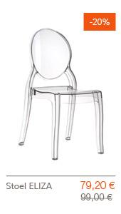 SUPER SOLDEN Altergo Design - ELIZA stoel