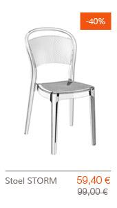SUPER SOLDEN Altergo Design - STORM stoel