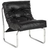 Zwarte loungefauteuil LOFT - Alterego Design