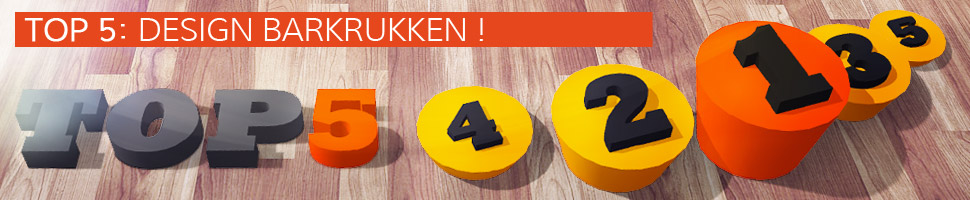 De design barkrukken - TOP 5
