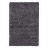 Hoogpolig grijs design tapijt CAVA - Alterego Design